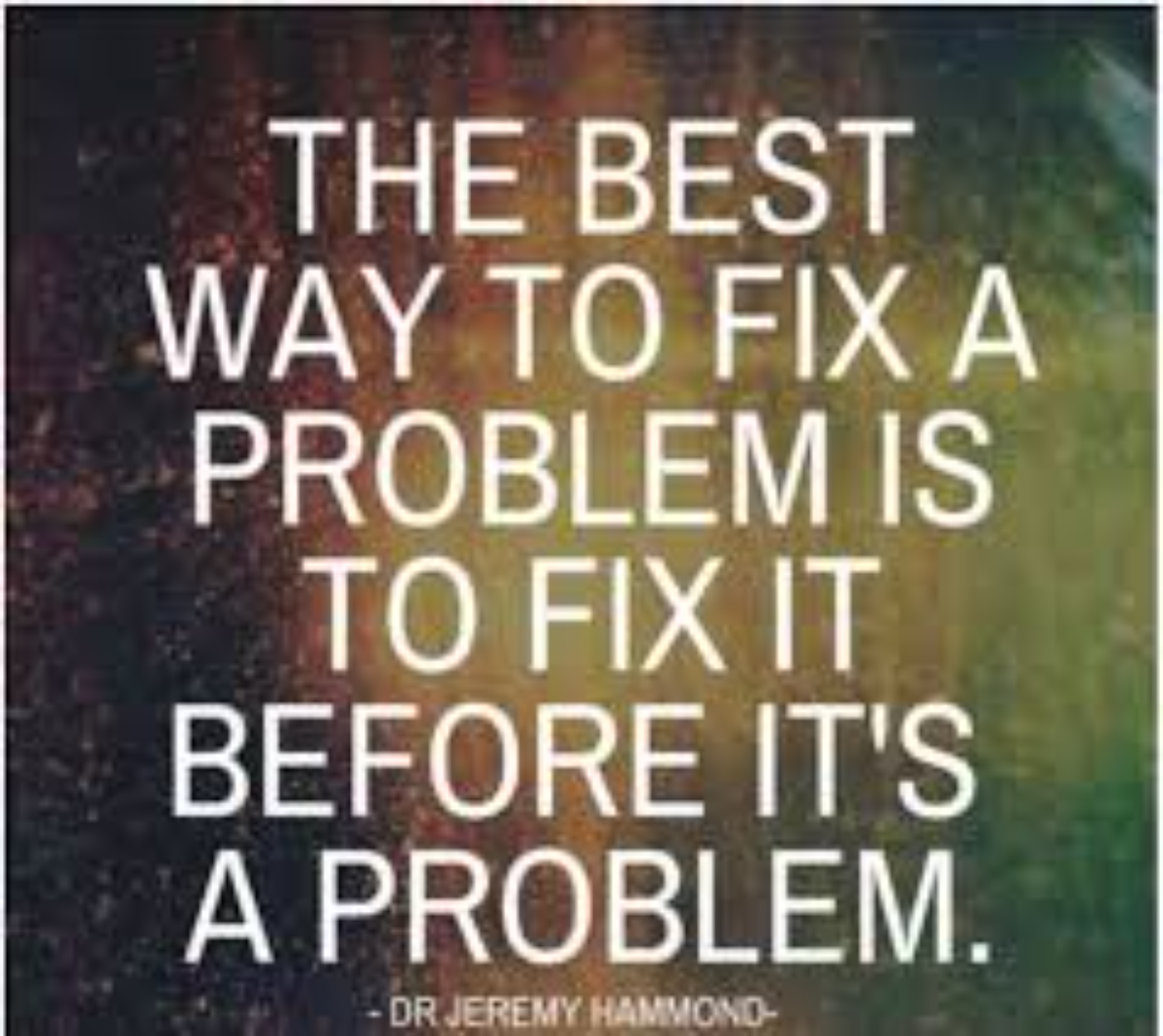 the best way to fix a problem-1200